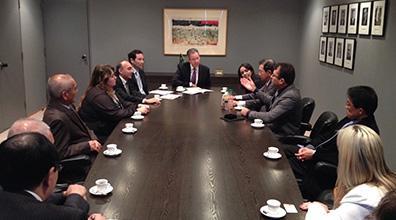 ABEMEL é recepcionada na Embaixada Brasileira em Tóquio nesta terça-feira (29/10)